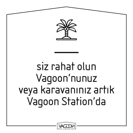siz rahat olun Vagoon'nunuz veya karavanınız artık Va