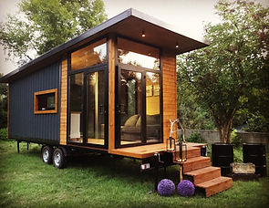 Vagoon House 4 Tiny House Mobil Ev Tekerlekli Ev