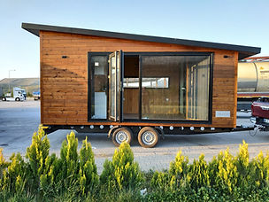 Vagoon House GO Plus Tiny House Mobil Ev Tekerlekli Ev