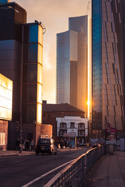 Overlooking Deansgate