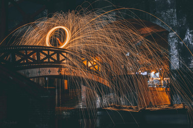 Wire Wool Spinning