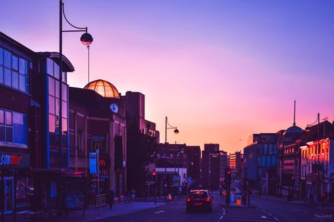 A6 Sunset