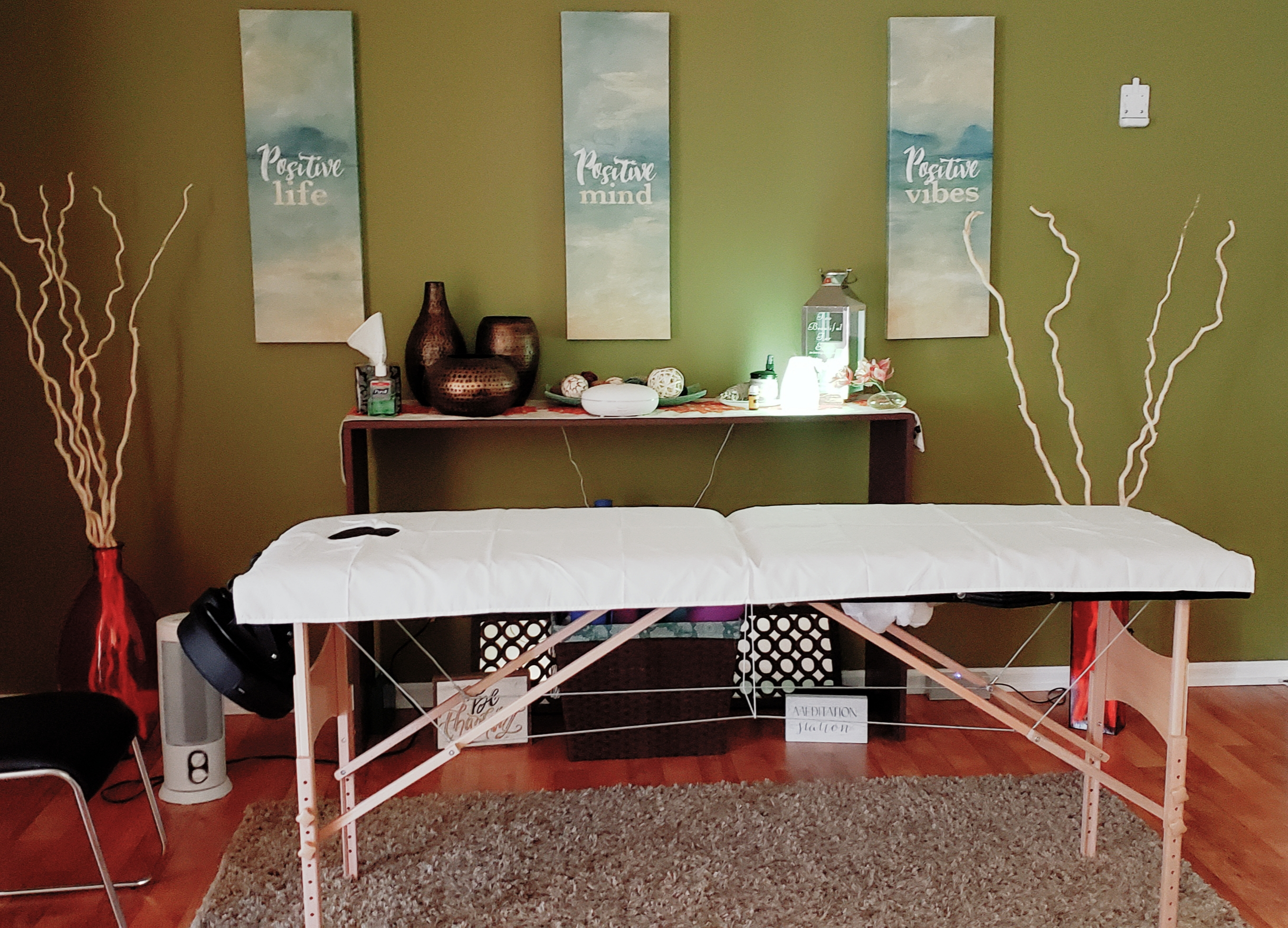 Yoga/Reiki/Meditation Area