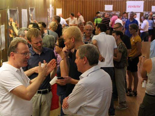 Konstruktives Miteinander bei der Infoveranstaltung in Mannheim-Feudenheim