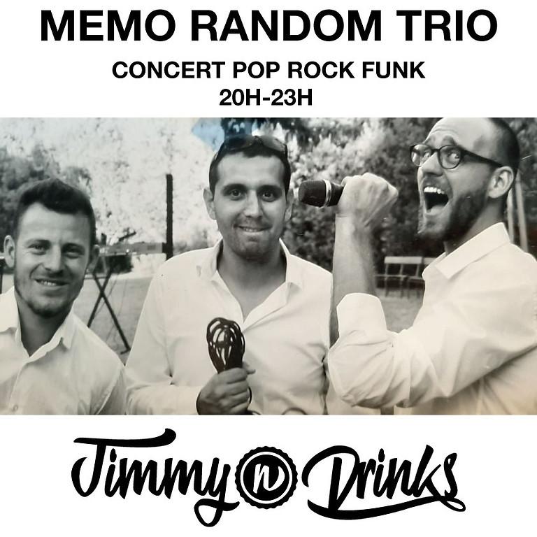 Mémo Random Trio en concert