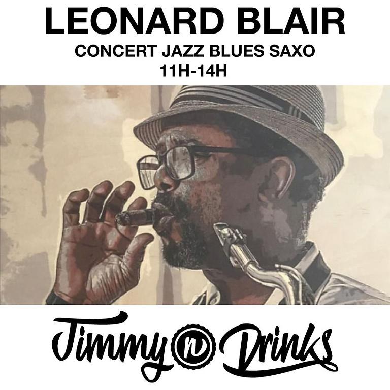 Léonard Blair en concert