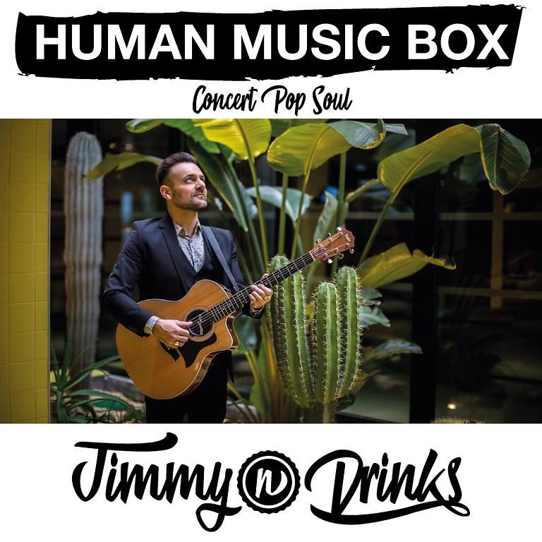 Human Music Box en concert