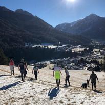 Mountain Workout in Soraga