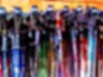 Ski poles on a rack.jpg