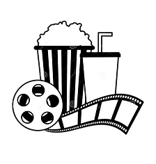 cinema-popcorn-soda-reel-strip-movie-fil