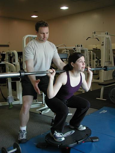 Victoria BC personal training strength coach core conditioning