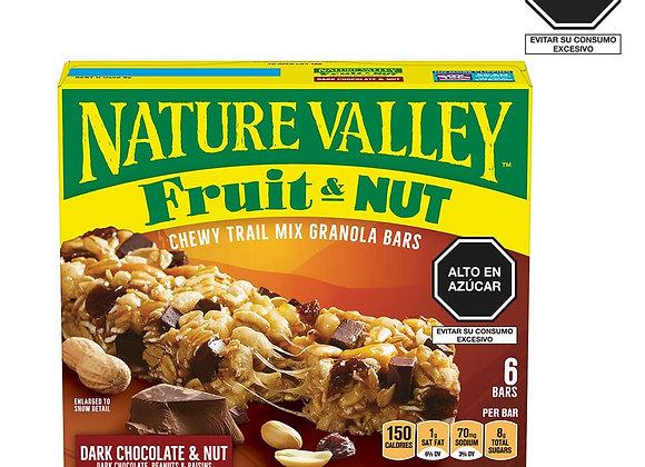 Barra Dark Chocolate & Nut Nature Valley