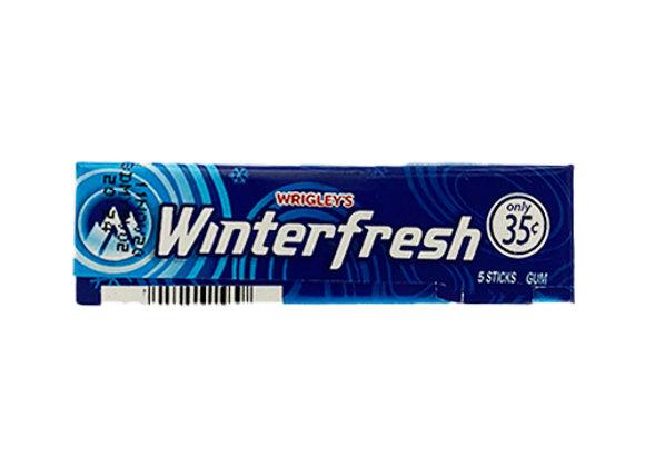Goma de mascar Winter Fresh (5 unidades)