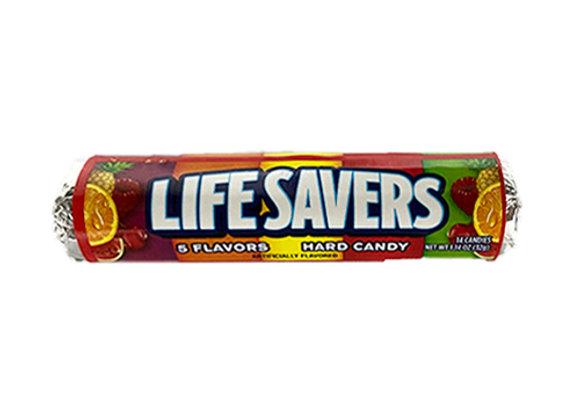 Pastillas Salvavidas (Lifesavers) de 5 sabores