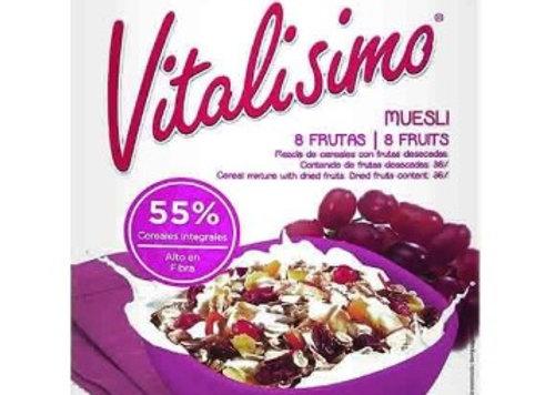 Cereal integral Vitalisimo 8 frutas 450g