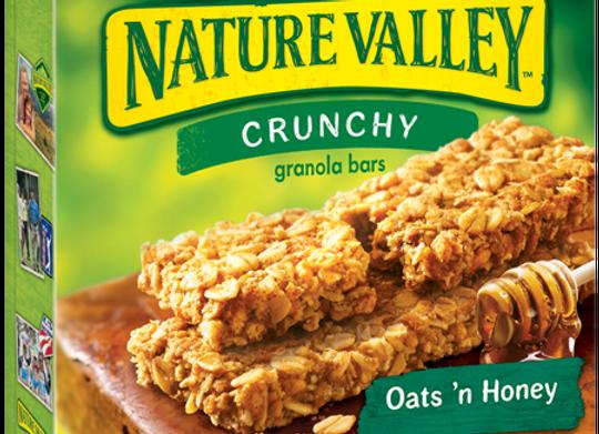 Barra Honey Oats Nature Valley