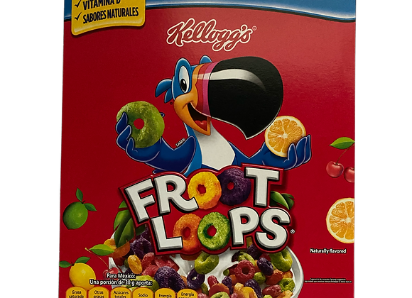 Cereal Froot Loops Kellogg's 410grs