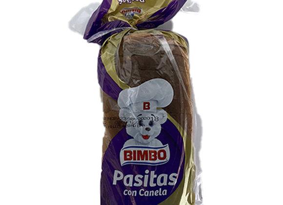 Pan Molde Pasitas con Canela Bimbo Chico