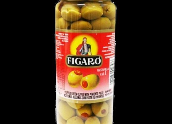Aceitunas Figaro con Pimiento