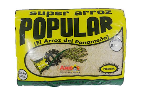 Arroz Popular (2.27kg = 5Lbs)