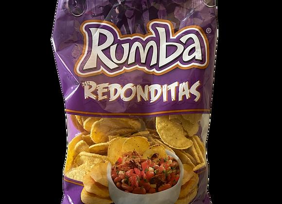 Nachos Tortillas de Maiz Redonditas Rumba 275g