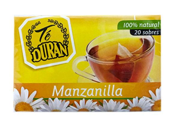 Te duran Manzanilla 20 sobres