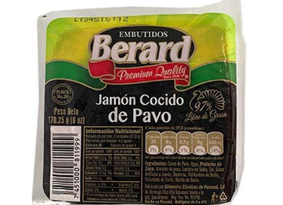 Jamon cocido de Pavo Berard (170.25gr)
