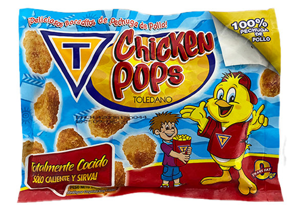 Chicken Pops Toledano 100% pechuga de pollo (12 oz)