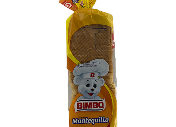 Pan Model Mantequilla Bimbo Grande