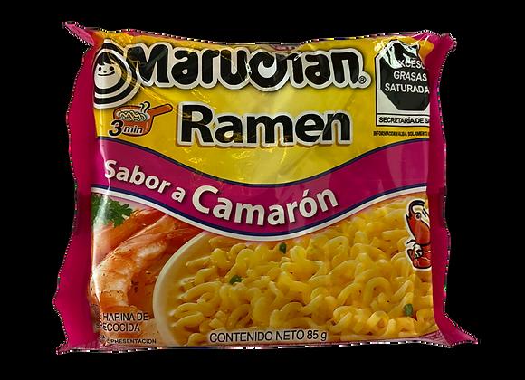 Sopa de fideos Camaron Maruchan paquete 85gr