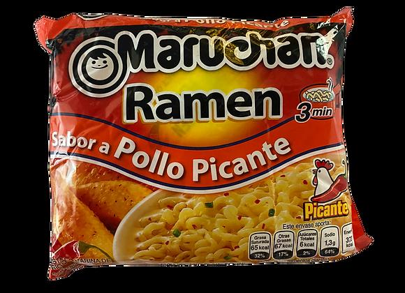 Sopa de fideos Pollo Picante Maruchan paquete 85gr