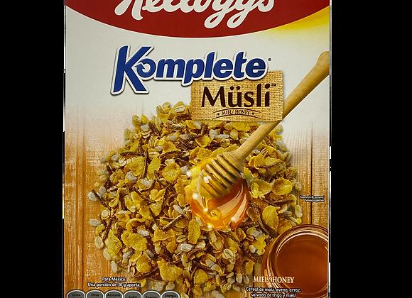Cereal Komplete Miel Kellogs 425g