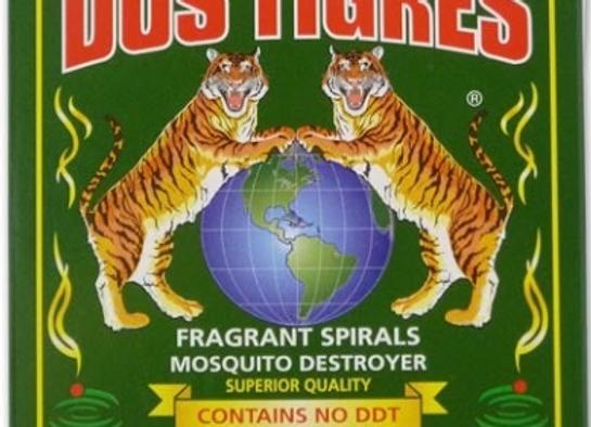 Mechas Dos Tigres (Repelente de mosquitos)
