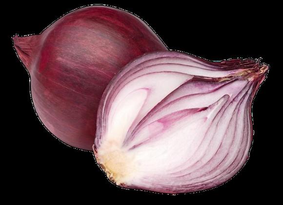 Cebolla morada a $3.3 x Libra