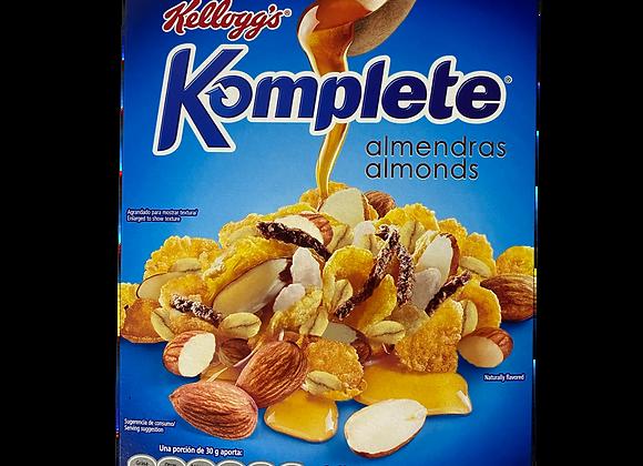 Cereal Komplete Almendras Kellogs 410g