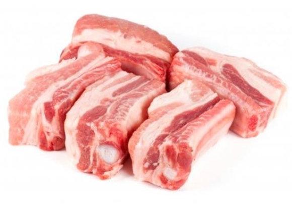 Costilla de Cerdo (0.91kg = 2Lb)