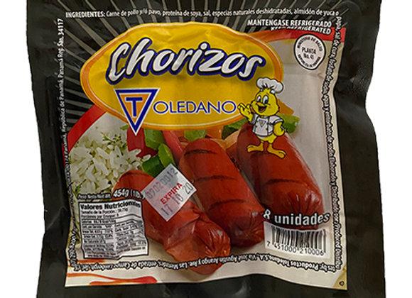 Chorizo Toledano (8 unidades - 1 Lb)