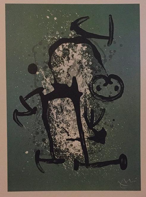 Joan Miro, Uneducated, Green