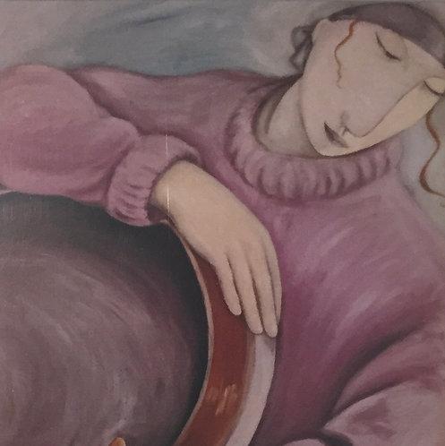 Joanna Powell, prematted print I