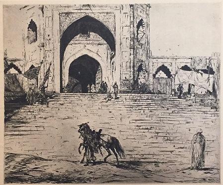 Marius Bauer, The Great Mosque at Delhi