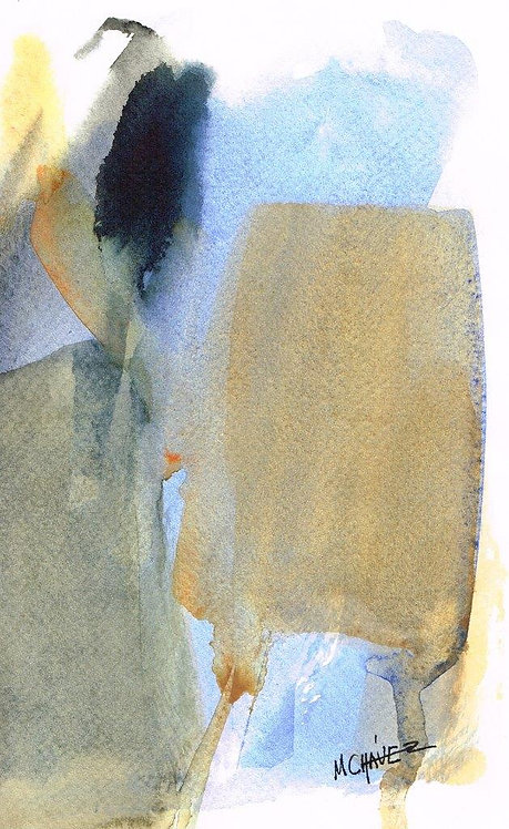 Mercedes Chavez French Watercolour 3