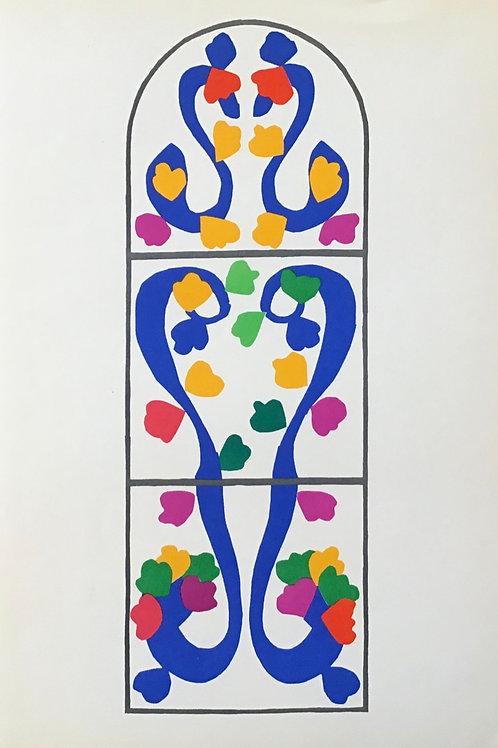 Matisse -  Lithograph - Vigne