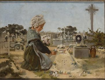 Emma Minnie Boyd, The Prayer, 1895, Bund