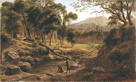 Eugene Von Guerard, Warrenheip Hills nea