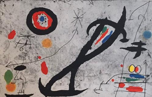 Joan Miro,Drawn on a Wall V