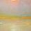 Thumbnail: Lloyd Rees, Fire Haze at Gerringong  50x60cm