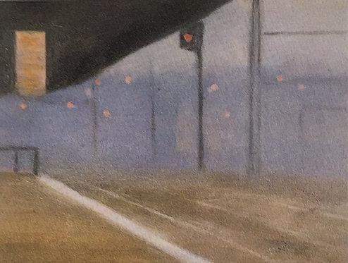 Clarice Beckett, Princes Bridge Station