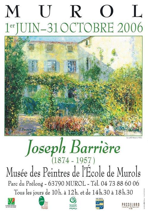 Joseph Barriere Poster 30 x 52cm
