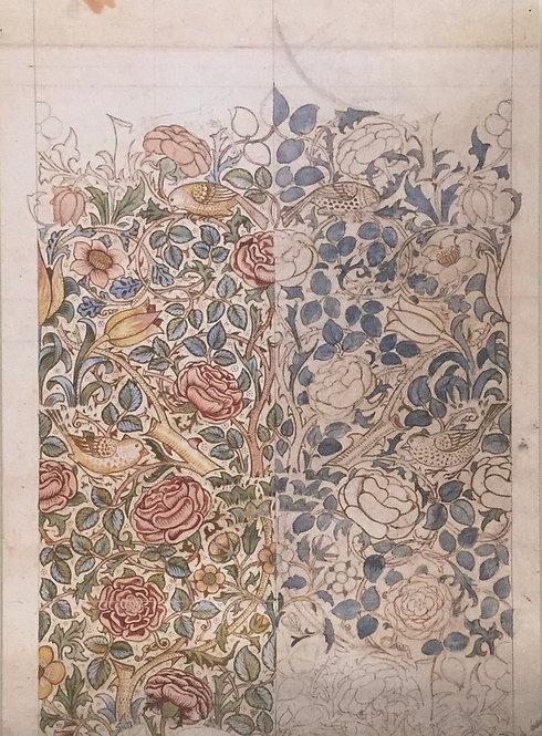 William Morris, Design for Rose