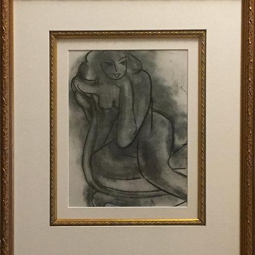 Henri Matisse, drawing, from Dessins II